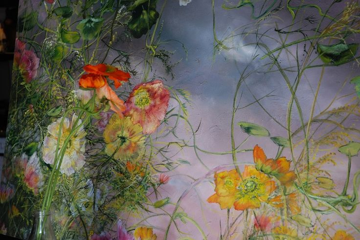 Claire Basler - Contemporary Artist - Flowers - 039