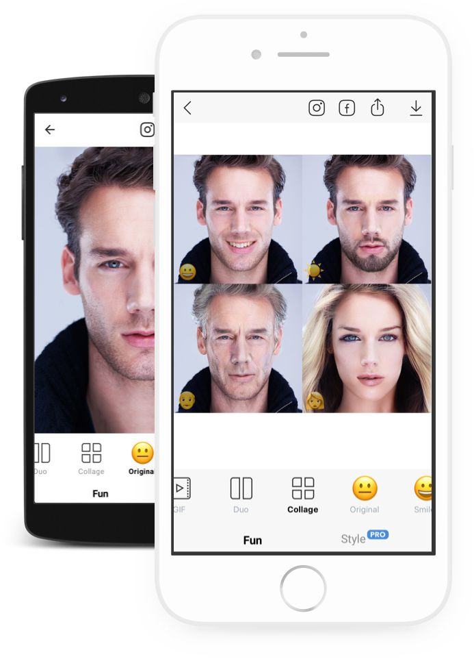 FaceApp Free Neural Face Transformation Filters Fun to