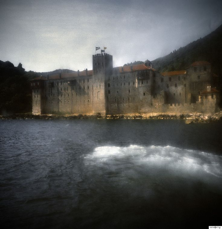 Greek photographer Stratos Kalafatis dedicated five years to exploration of the monasteries, caves and men of Mount Athos, bringing us profound insight into this cloistered world.