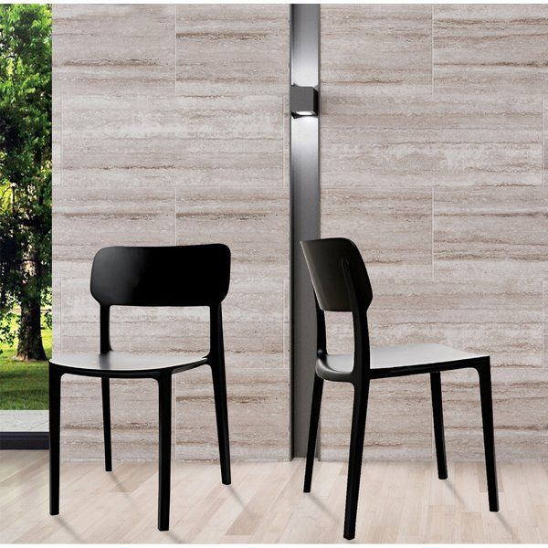 Gourley Modern Stackable Dining Chair Side Chairs Dining Room