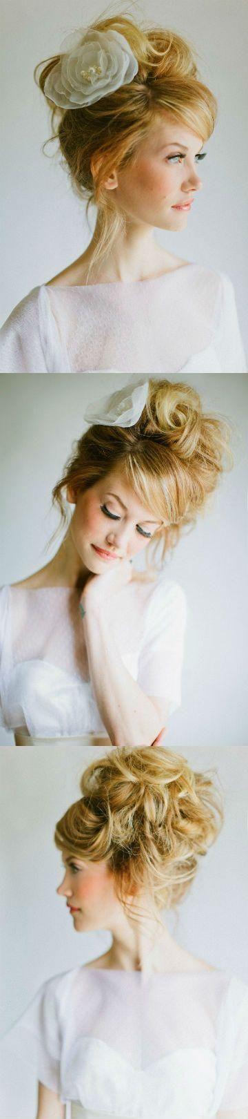 Dreamy hair #beauty #hair #wedding