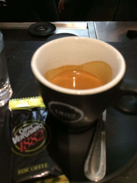 Caffe Vergnano Eataly Chicago It's all about the crema, perfect Italian expresso  Coffee project continues