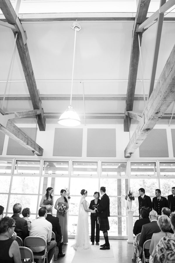 Wedding Ceremony at Old Mill Boathouse, Port Moody, BC