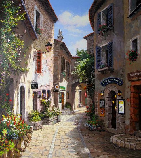 A Morning in Provence