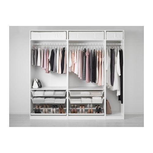 Schrank weiß ikea  Die besten 25+ Ikea hemnes kleiderschrank Ideen auf Pinterest ...