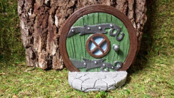 Fairy doorHobbit door mouse door Gnome door by ScaryGarycreations