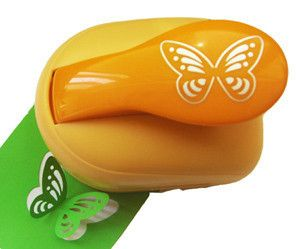 3DSuper large paper punch butterfly 33cm shape puncher craft flower scrapbook for diy tools US $18.99