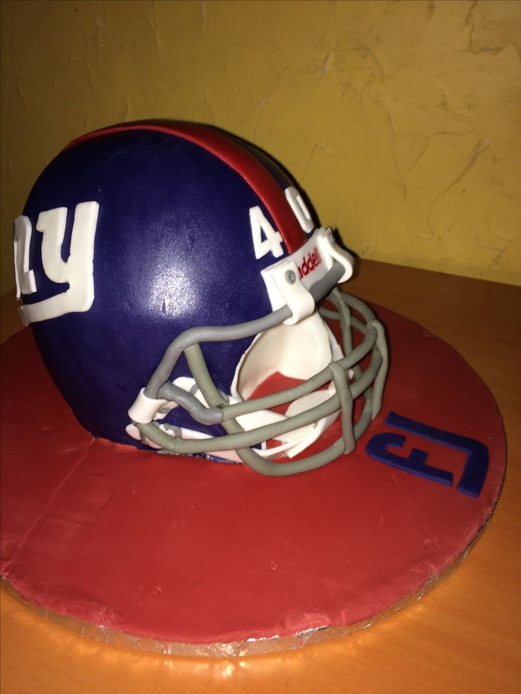 Gâteau Casque Giants football US