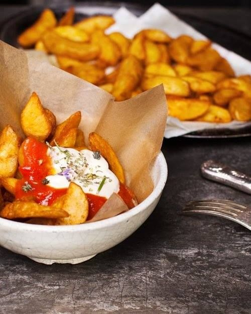 Patatas Bravas | Dream trip- Southern Spain and Morocco | Pinterest