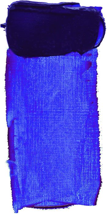 French Ultramarine Blue  My favorite color ever. -J