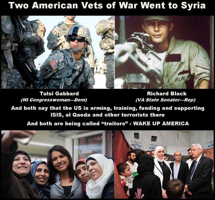 Two american Vets of war went to Syria on search for truth !  #USA #Vets #War #TulsiGabbard #BernieSanders #Syria #Trump #Obama #American #humanity #inspiration #Europe