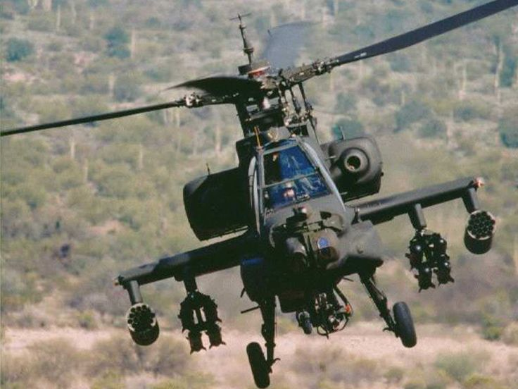 AH-64 Apache Helicopter  BAD-ASS!