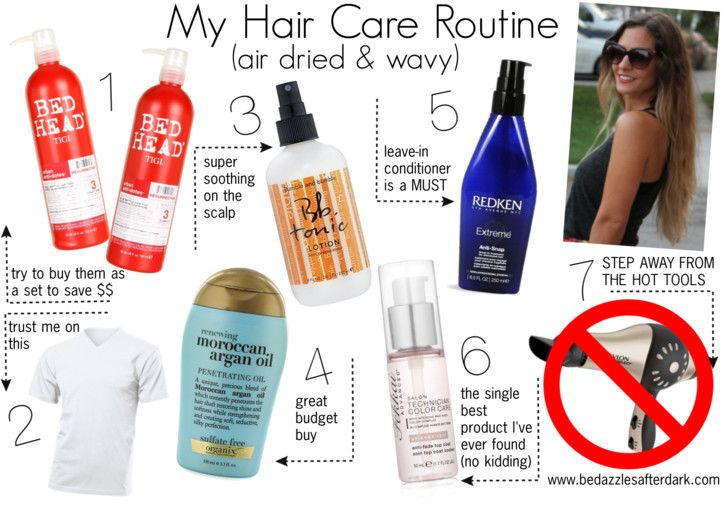 Hair Care for Curly/Wavy hair