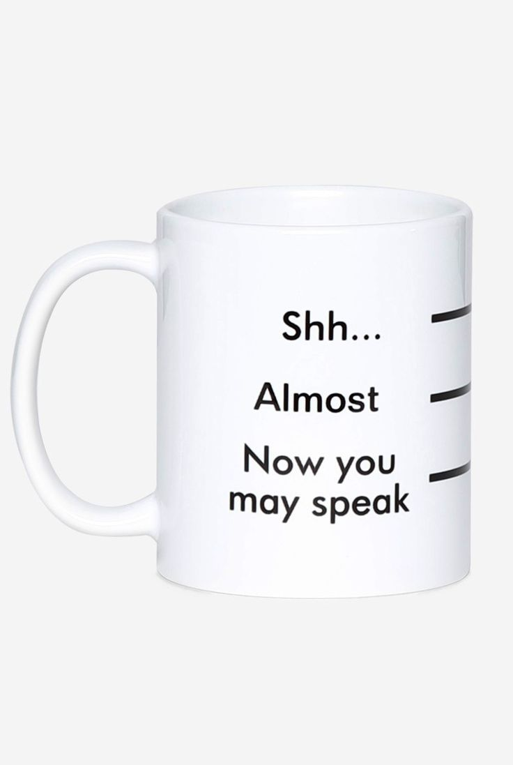 Coffee measurement mug