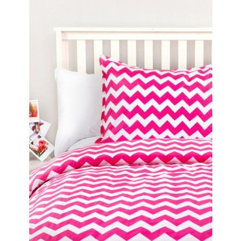 chevon bed spreads.com | Let's say you choose the Pink Dormify duvet ; your roomie could find a ...