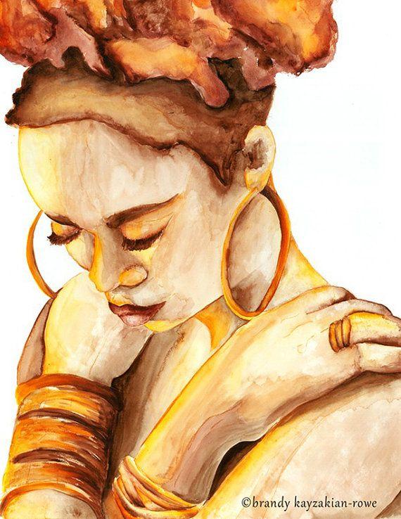 99 best ART images on Pinterest | Paint, African artwork and Black art