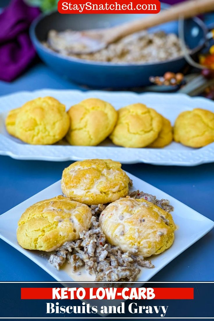 Easy Keto Low Carb Biscuits And Gravy Is The Best Country