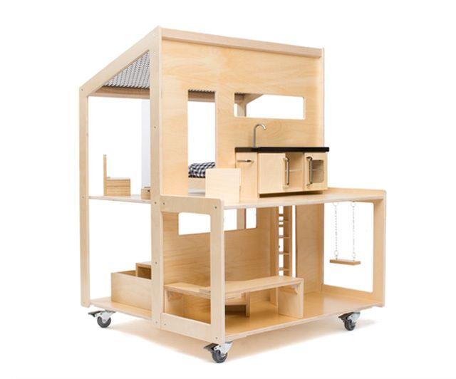 Modern Doll Houses - Mr Printables Blog