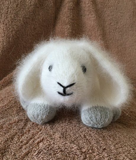 An adorable project from our Community: Billy the Bunny knitting project by Isobel W | LoveKnitting