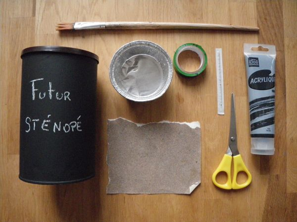 How to create a pinhole camera.  French friends : danstacuve.org