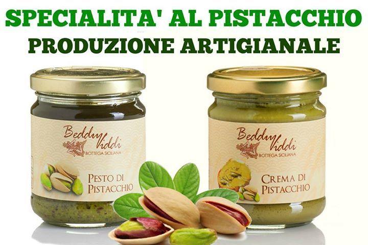 Pesto e crema di pistacchio di Bronte dop