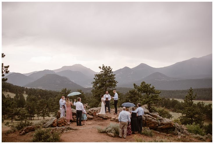 To elope in Rocky Mountain National Park outside Estes Park, Colorado, you must …