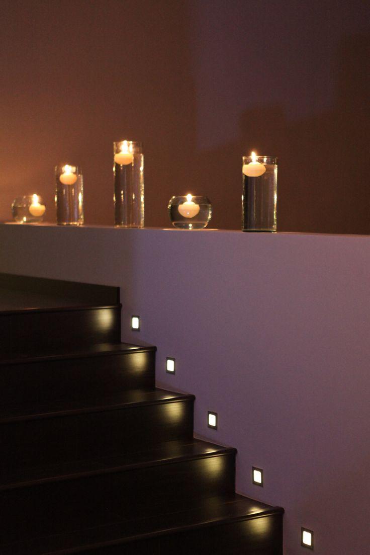 Iluminación Velas Escaleras