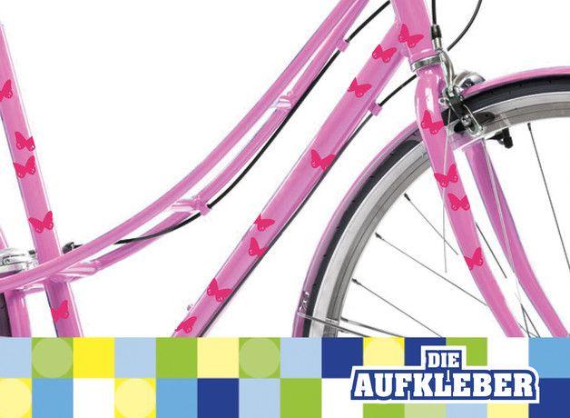 """Mit unseren Fahrradaufklebern kannst du dein Fahrrad ganz leicht pimpen! Die Folie lässt sich ganz leicht und rückstandslos wieder entfernen.  Im das Feld """"Nachricht an den Verkäufer"""" welches..."""