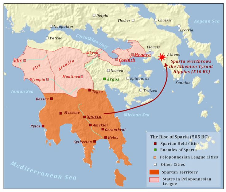 Best Ancient Greek Images On Pinterest Ancient Greece - Map of the distance between athens sparta and the us