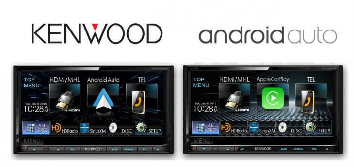 Kenwood announces first Android Auto head units for the US market  CES in January was where we first saw the nearly 6-month old Android Auto begin to make an appearance. Kenwood was one of the partners who showed off their Android Auto head unit,