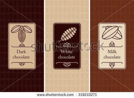 Chocolate Logo Fotos, imágenes y retratos en stock   Shutterstock