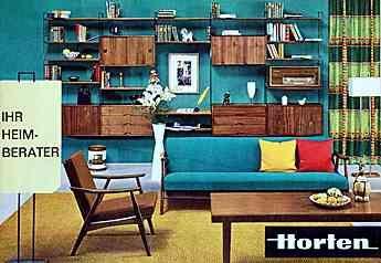 Möbel der 60er Jahre
