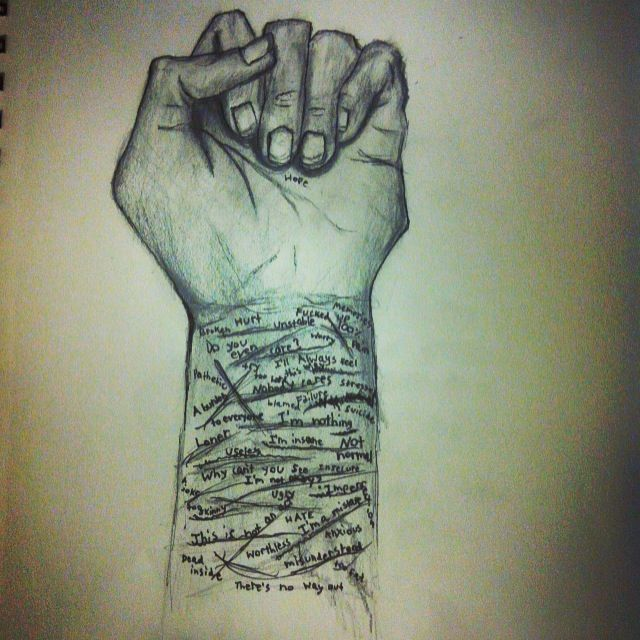 100+ ideas to try about depression drawings | Drawings, Depression ...
