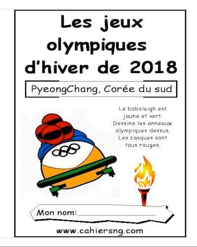 Version PDF – Les olympiques d'hiver Les jeux d'hiver de PyeongChang sont dans quelques semaines! Voici un petit livret thématique de 16 pages sur les jeux olympiques d'hiver. Activités de vocabulaire, de lecture, de compréhension et de grammaire. En version PDF seulement. Corrigés inclus. Pour ces livrets, vous devez faire des photocopies recto-verso (ex: les pages 1 et …