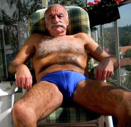 image Straight italian older bear fucks wife