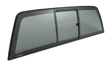 "$420.00 - CRL ""Perfect Fit"" Tri-Vent Manual Slider with Solar Privacy Glass for 2014+ Chevy Silverado/GMC Sierra 1500"