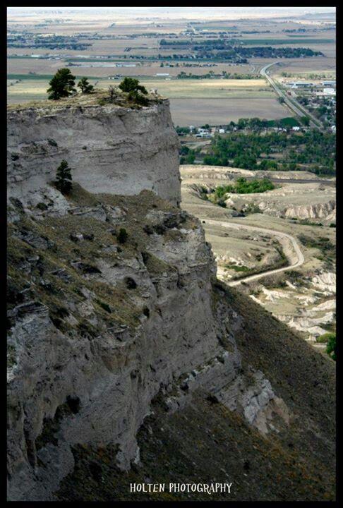 Scottsbluff National Monument.   Scottsbluff, Nebraska