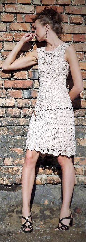 46+ Free and Gorgeous New and Fashion Crochet Dress Pattern Ideas Part 15