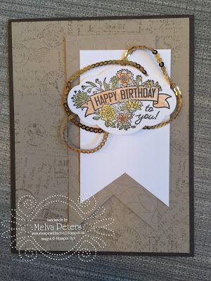 Stamp with Melva: Can you case it Friday - Label Me Pretty