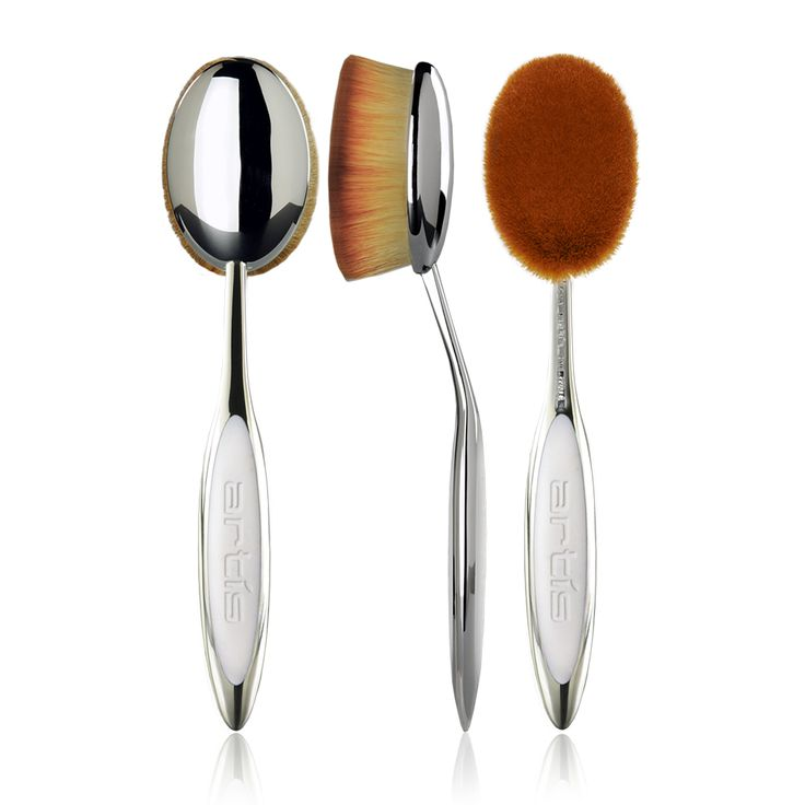 Artis Oval Makeup Brushes ($62) are a must-have for many famous makeup artists globally.
