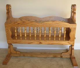 How to Build a Wooden Baby Cradle