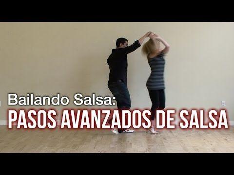 Pasos Para Bailar Salsa - Avanzados - YouTube
