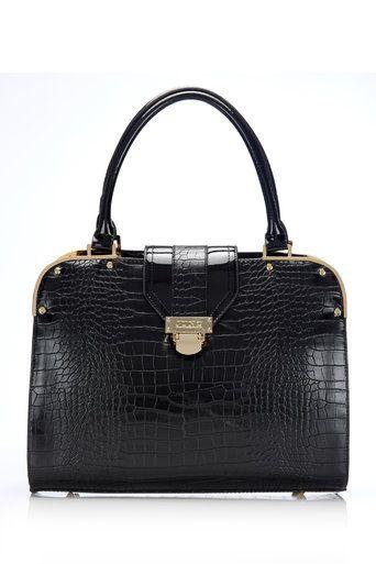 Juno Crocodile Effect Handbag #MyChristmasStory