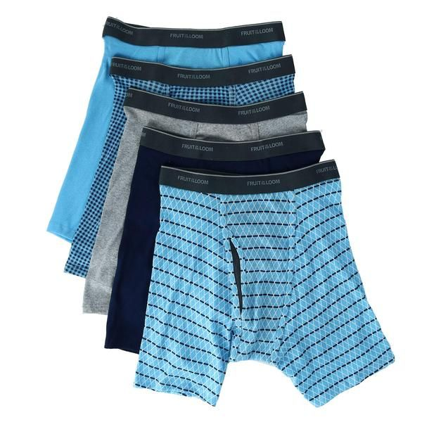 Fruit of the Loom Boys Boys Breathable Boxer Brief Underwear Multipack Underwear