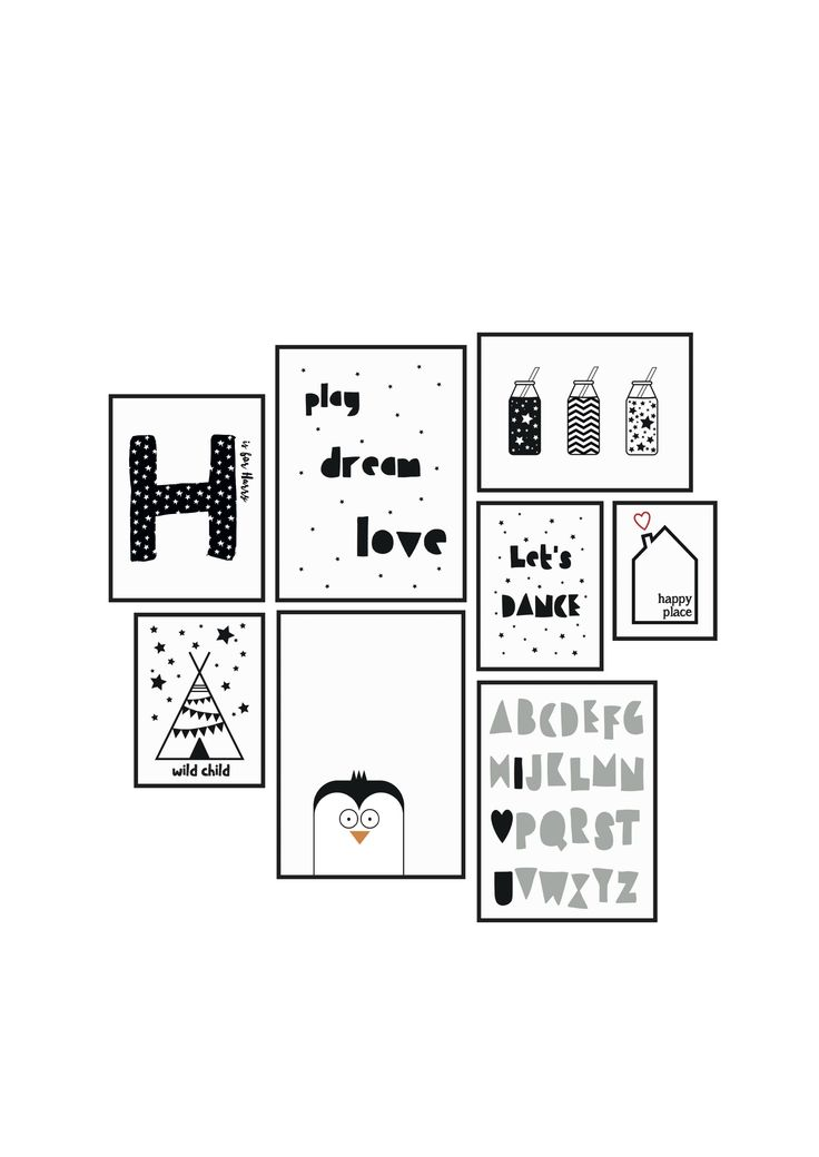 Just a selection of prints designed by The Little Jones. Check out @thelittlejones on Instagram to see more beautiful prints and home decor shots!