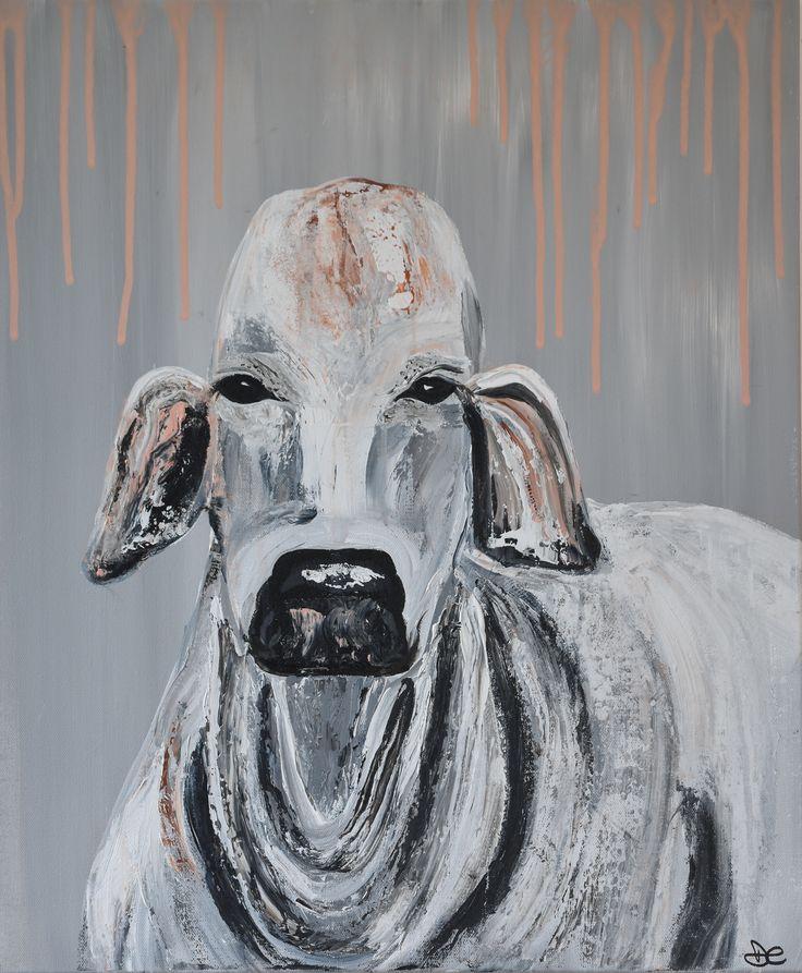 """""""Brahman"""" by Deborah Christensen. Paintings for Sale. Bluethumb - Online Art Gallery"""