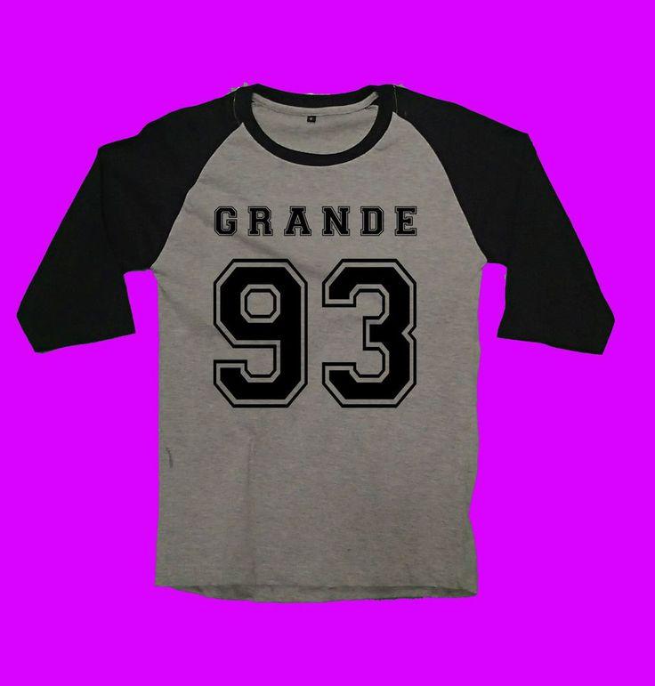 Ariana Grande 93 new tour concert 2016 unisex raglan dangerous woman honeymoon #Unbranded