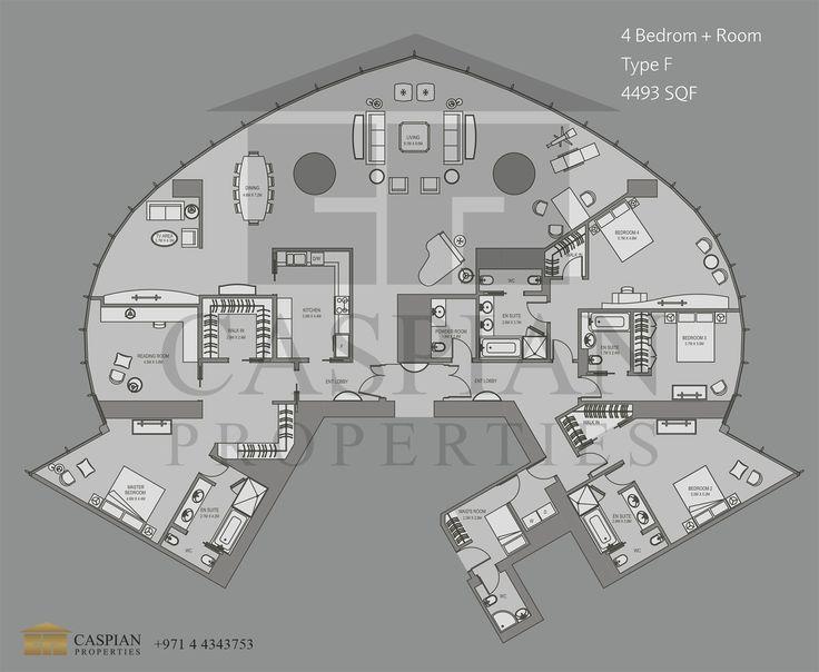 9 best floorplan dubai images on pinterest dubai floor for Apartment suche