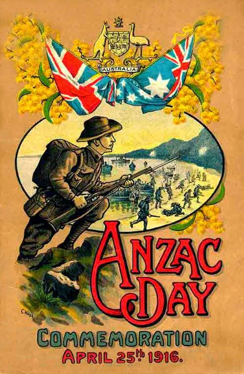 Anzac day Australia/ New zealand, brave ww1 soldiers we will never forget.