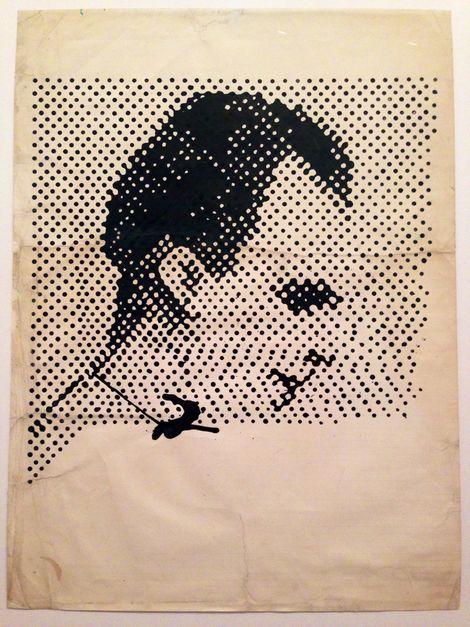 Sigmar Polke, Raster drawing on ArtStack #sigmar-polke #art